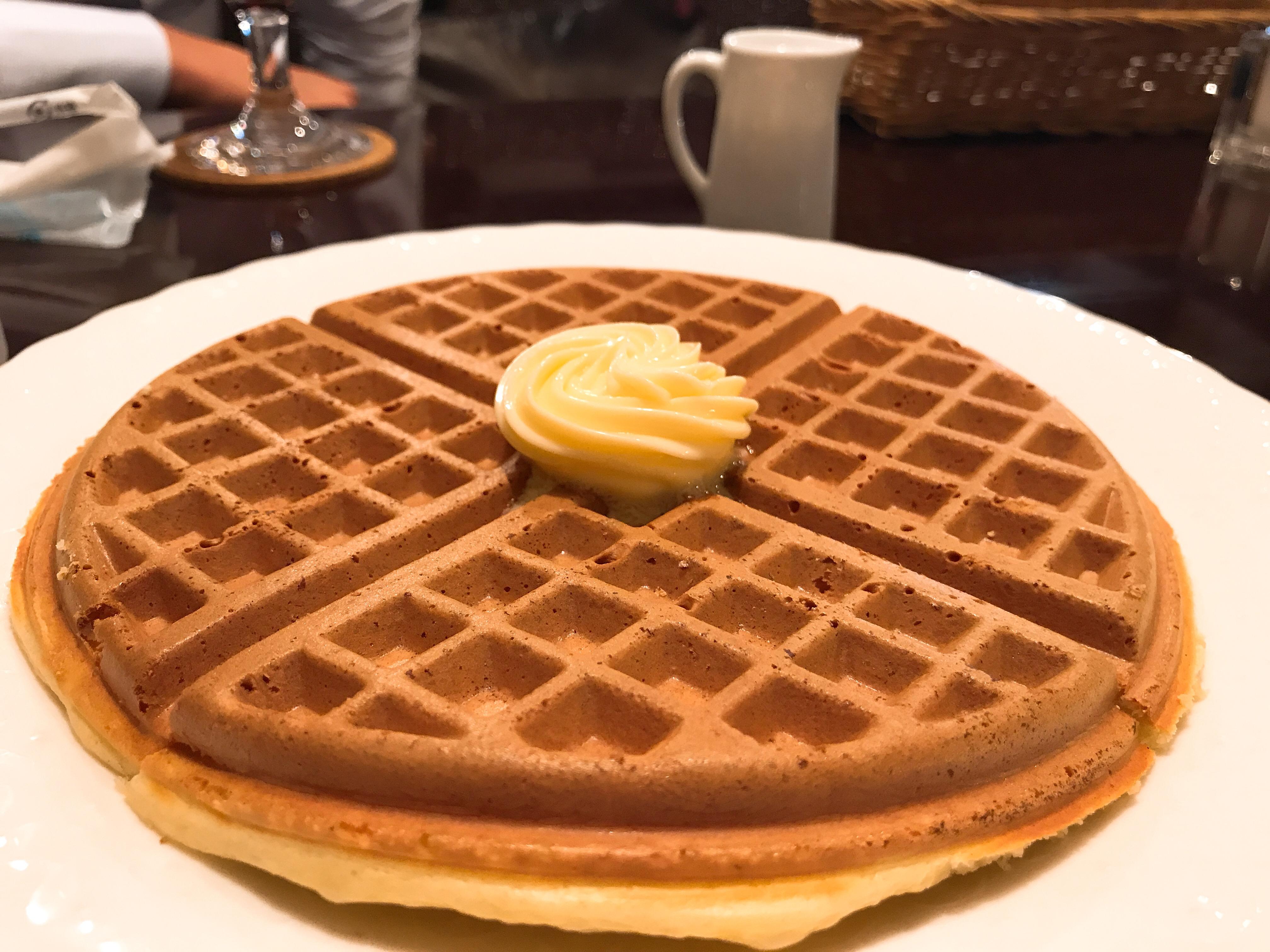 純喫茶で食べる『ワッフル・・・』|好きな食べ物ランキング更新